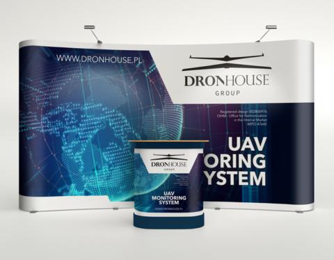 System monitoringu UAV - elementy wystawiennicze - Dron House