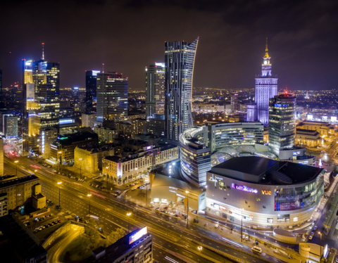 Warsaw by night - Prokreacja.com