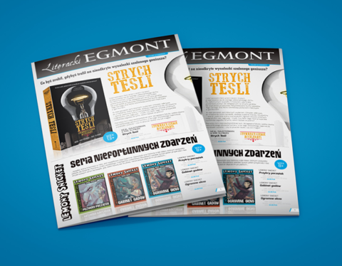 "Broszura ""Promocje książkowe"" - Egmont Publishing"